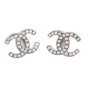 🇺🇸Chanel Crystals CC Moscova Earrings🇺🇸
